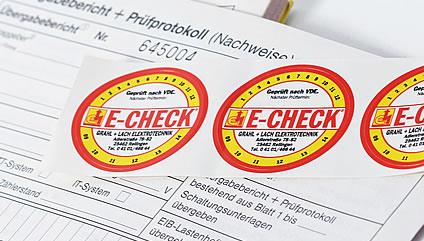 E-CHECK Prüfung